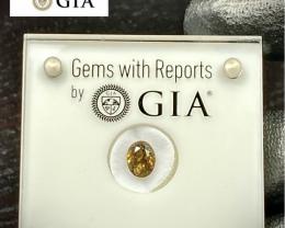 2.42ct GIA Rare Alexandrite Chrysoberyl- NO Enhancement /  7.99 x 6.19mm /
