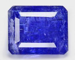 Tanzanite 18.11 Cts  Violet Blue Color Natural Gemstone