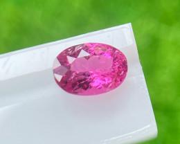 Rubilite 0.91 Cts Pink Portuguese cut BGC1444