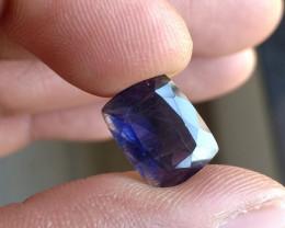 Natural iolite Gemstone Faceted Genuine Gem VA5668