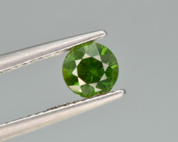 Natural Demantoid Garnet 0.67 Cts, Rich Green Color