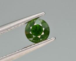 Natural Demantoid Garnet 0.87 Cts, Rich Green Color