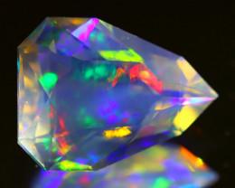 ContraLuz 3.44Ct Pear Cut Natural Mexican Very Rare Species Opal A1404