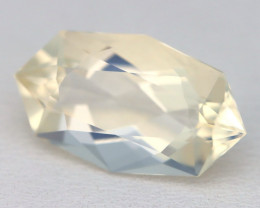 4.95Ct Natural Mexican Fancy Oval Cut Interesting Crystal Fire Opal A1406