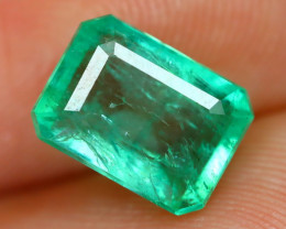 Colombian 1.75Ct Octagon Cut Natural Colombian Green Color Emerald A1419