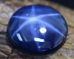 Star Sapphire 5.85Ct 6 Rays Natural Blue Star Sapphire A1424