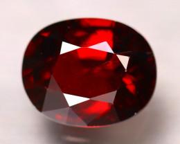 Almandine 3.35Ct Natural Vivid Blood Red Almandine Garnet D1609/B26