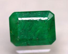 Emerald 2.08Ct Natural Zambia Green Emerald D1616/A38