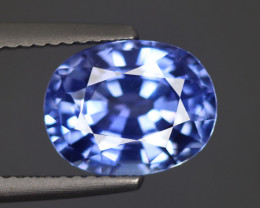 4.23 CT SAPPHIRE BLUE ONLY HEATED 100% NATURAL IF CLEAN SRI LANKA