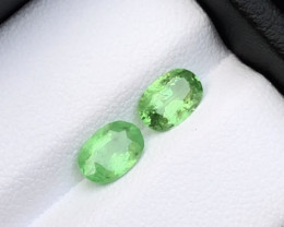 Forrest Green 1.75 ct Tsavorite Garnet Pair Ring Size