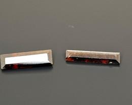 0.64Crt World Rarest Red Faceted Rutile Natural Gemstones JI18