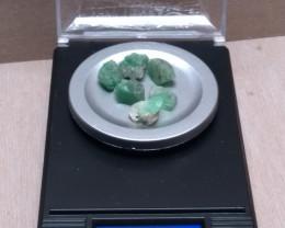 Colombian Emerald specimen lot 19.14 cts from Muzo