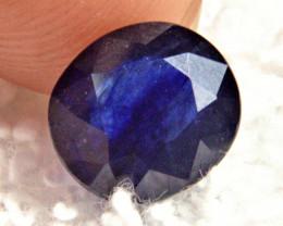 CERTIFIED - 3.72 Carat Blue Included Sapphire - Beautiful