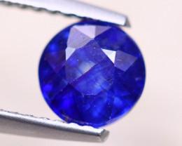 1.59ct Ceylon Blue Sapphire Round Cut Lot V8824