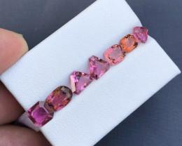 5.10 ct Pink Color Congo Tourmaline Parcel