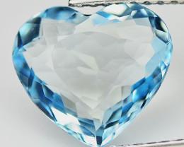 Aquamarine 2.24 Cts Blue Portuguese cut BGC1360