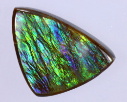 16x11mm,  6.10cts Natural Canadian Ammolite Stone / MA1644