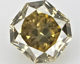 0.08 cts .Fancy shape Diamond ,  Fancy Color Diamond