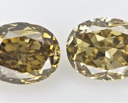0.15 cts .Fancy shape Diamond ,  Fancy Color Diamond
