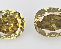 0.14 cts .Fancy shape Diamond ,  Fancy Color Diamond