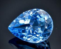 10 Crt Natural Topaz Faceted Gemstone.( AB 14)