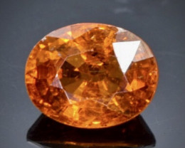 2.13 Crt Natural Spessartite Garnet Faceted Gemstone.( AB 14)