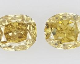 0.14 cts Fancy shape Diamond ,  Fancy Color Diamond