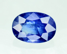 Gorgeous Color 1.60 Ct Natural Royal Blue Ceylon Sapphire ~ 1