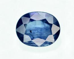Gorgeous Color 0.75 Ct Natural Royal Blue Ceylon Sapphire ~ 1