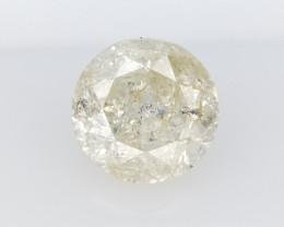 0.53 cts , Unique Multicolor Inclusion Diamond