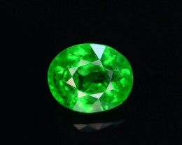 AAA Grade 0.85 ct Forest Green Tsavorite Garnet-K