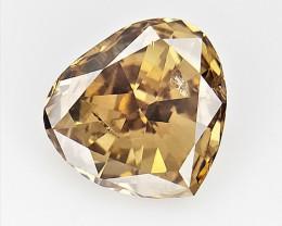 0.34 cts Fancy shape Diamond ,  Fancy Color Diamond