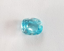 2.74ct Cushion Zircon - Certified by IGE