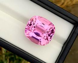 34.40 cts Natural Pink Kunzite Gemstone