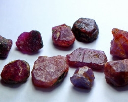 NR!!! 78.80 Cts Natural & Unheated~ Pink Ruby Rough Lot