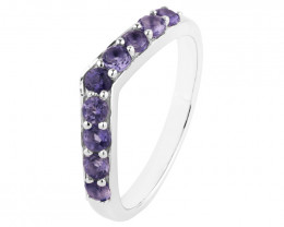 Iolite 925 Sterling silver ring #36712