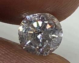 (3) Fiery 0.70cts SI2 White Loose Diamond Round  Natural