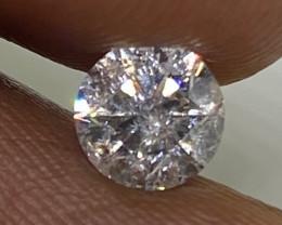 (4) Brilliant  0.7cts SI2 White Loose Round Diamond Natural