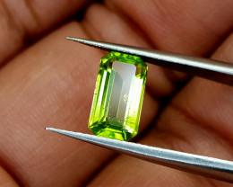 1.81Crt Peridot Pakistan Natural Gemstones JI19