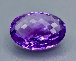 57.70 Crt Amethyst Faceted Gemstone (Rk-90)