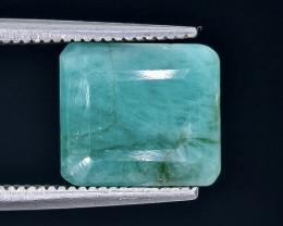 4.82 Crt Emerald Faceted Gemstone (Rk-90)