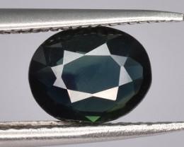 1.06 CTS Blue Green Sapphire Gem