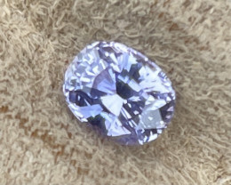 2.18 ct sapphire certified unheated.