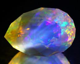 ContraLuz 7.46Ct Precision Master Cut Very Rare Species Opal B1502
