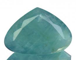 ~RAREST~ 4.81 Cts Natural Grandidierite Bluish Green Heart mix Cut Madagasc