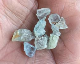 25 Ct Aquamarine Gemstone Rough Package  Natural Gemstone VA5746