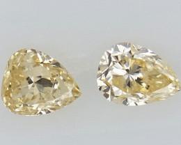 0.13 cts Fancy shape Diamond ,  Fancy Color Diamond
