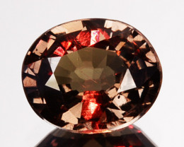 Gorgeous Natural Color Change Garnet 0.73 Cts Oval Cut Tanzania
