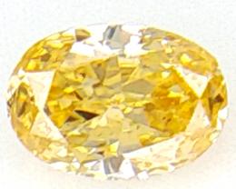 0 .04 cts Fancy shape Diamond ,  Fancy Color Diamond