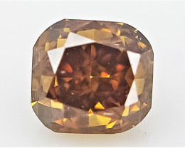 0.08 cts Fancy shape Diamond ,  Fancy Color Diamond